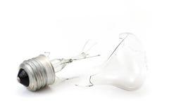 残破的电灯泡 库存照片