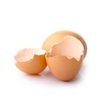 残破的蛋壳 免版税库存图片