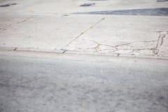 残破的边路 免版税库存图片