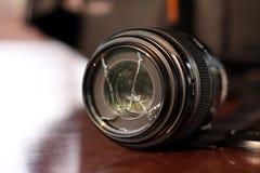 残破的透镜 库存图片
