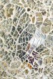 残破的镜子 图库摄影