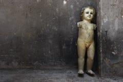 残破的雕塑 免版税库存图片