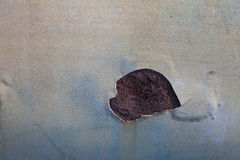 残破的颜色和生锈 免版税图库摄影