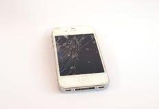 残破的移动电话 库存图片