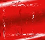 残破的玻璃红色背景 库存照片