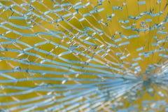 残破的玻璃纹理 免版税库存图片