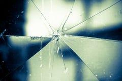 残破的玻璃葡萄酒背景 免版税图库摄影