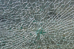 残破的玻璃 免版税库存照片