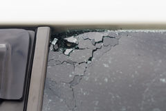 残破的玻璃 图库摄影