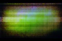 残破的LCD显示小故障背景  免版税库存照片
