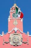 殖民地修造的梅里达,墨西哥 库存照片