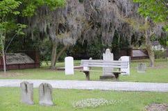 殖民地公园公墓,大草原乔治亚 图库摄影