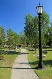 殖民地公园公墓 库存图片