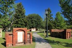 殖民地公园公墓 库存照片