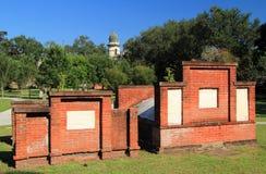 殖民地公园公墓 免版税库存照片