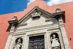 殖民地墨西哥门面 皇族释放例证