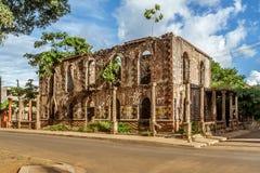 殖民地废墟 库存图片