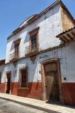 殖民地建筑学在Patzcuaro墨西哥 图库摄影