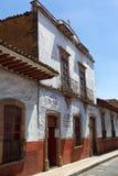 殖民地建筑细节在Patzcuaro墨西哥 免版税库存照片