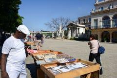 殖民地建筑学在Plaza de阿玛斯 免版税库存照片