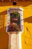 殖民地arcitecture在萨尔瓦多 免版税库存照片
