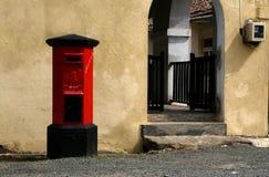 殖民地pillarbox 库存照片