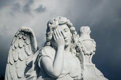 殡葬雕象 库存照片