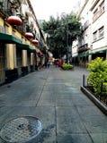 段落在墨西哥城 库存图片
