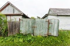 段落在贫民窟 免版税库存照片