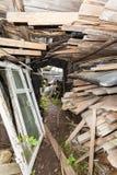 段落在贫民窟 库存照片