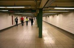 段落地铁 免版税图库摄影