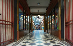 段落des王子内部,巴黎,法国 免版税图库摄影