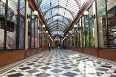 段落des王子内部,巴黎,法国 免版税库存图片