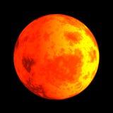 毁损行星红色 免版税库存图片