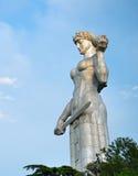 母亲乔治亚纪念碑,第比利斯 免版税库存图片