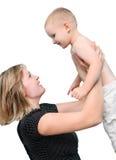 母亲和孩子 库存照片