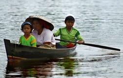 母亲和childs 免版税图库摄影