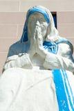 母亲特里萨雕象  免版税库存照片