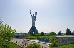 母亲祖国在基辅 图库摄影