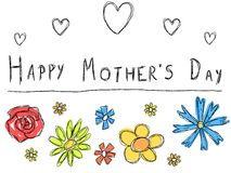母亲节卡片 库存图片