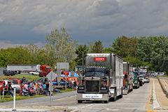 母亲节卡车护卫舰在兰卡斯特宾夕法尼亚 图库摄影