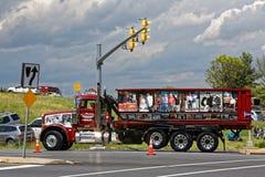 母亲节卡车护卫舰在兰卡斯特宾夕法尼亚 库存照片