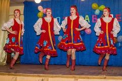 母亲节的庆祝在卡卢加州地区(俄罗斯) 2015年11月29日 库存照片