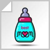母亲节icons_5 库存例证