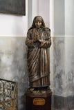 母亲雕塑特里萨 免版税图库摄影