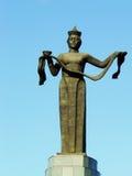 母亲Buryatiya纪念碑乌兰乌德 库存图片