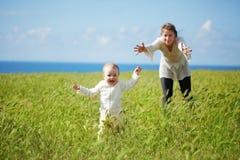 母性 免版税库存照片