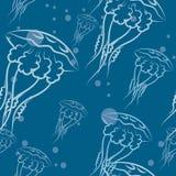 水母样式 免版税图库摄影