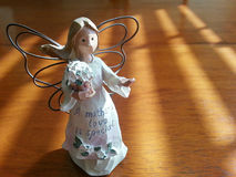 母爱天使 库存图片