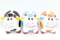 母牛玩偶 免版税库存图片